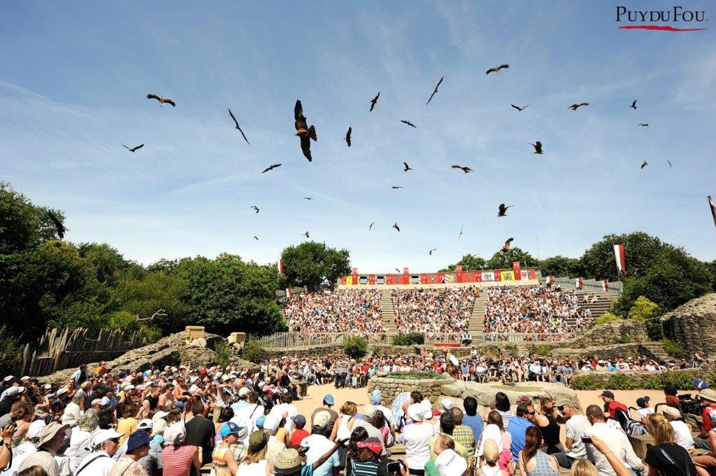 spectacle du Puy du Fou les oiseaux