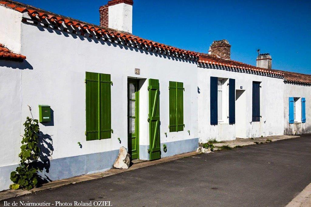 maisons typiques de noirmoutier