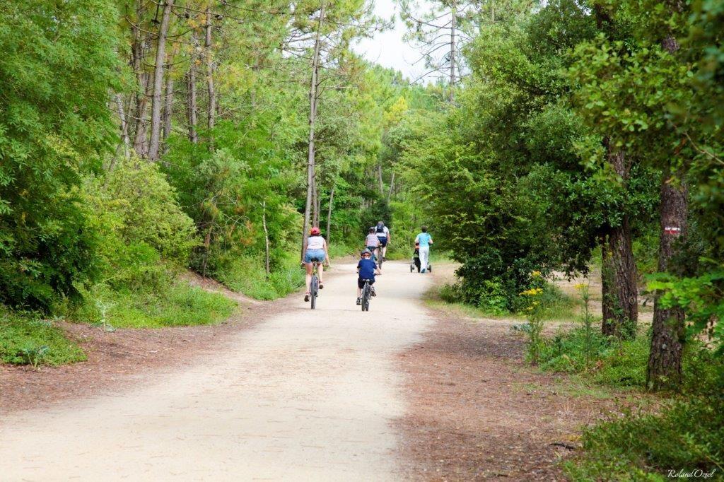Le camping les Chouans est proche des pistes cyclables