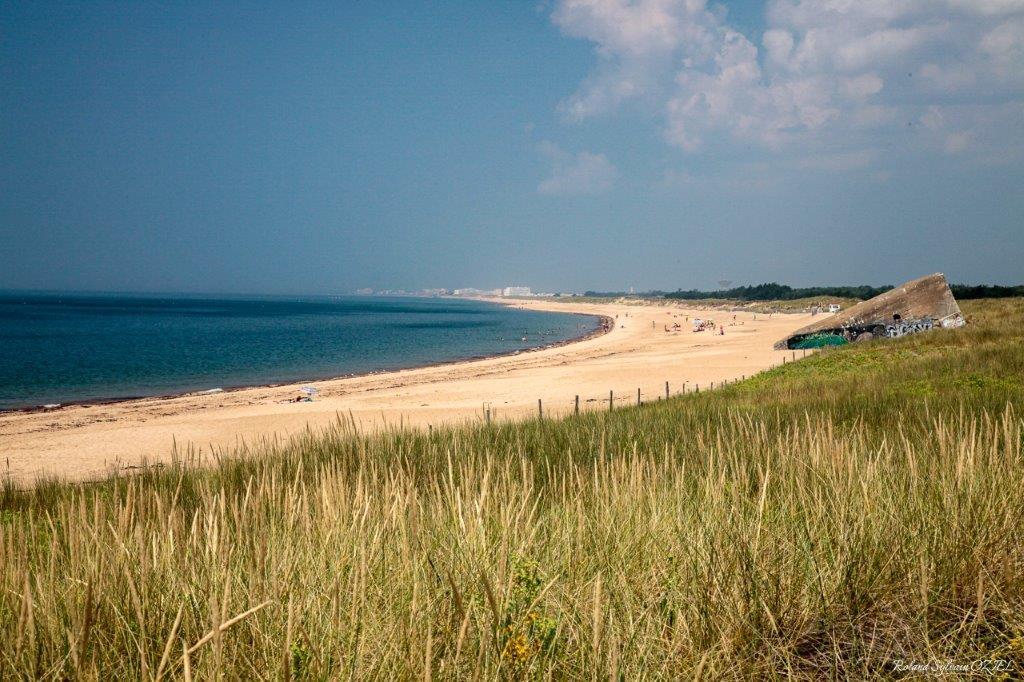 plage de sion en Vendée
