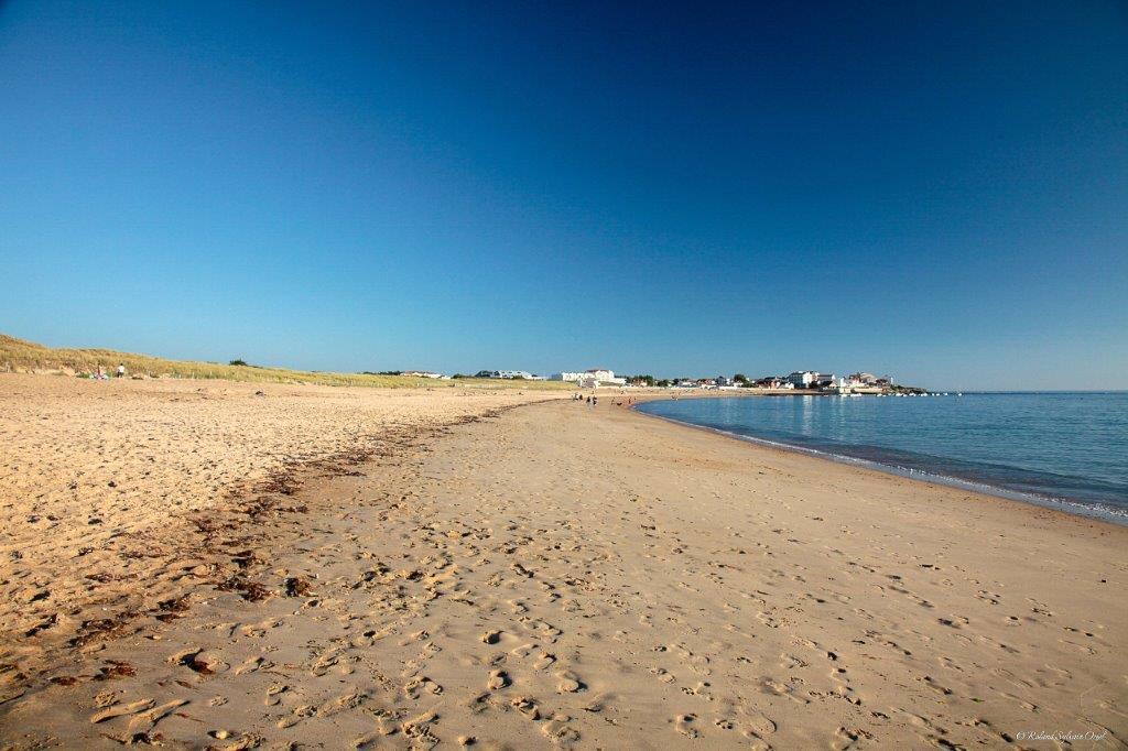 autre vue de la plage en Vendée