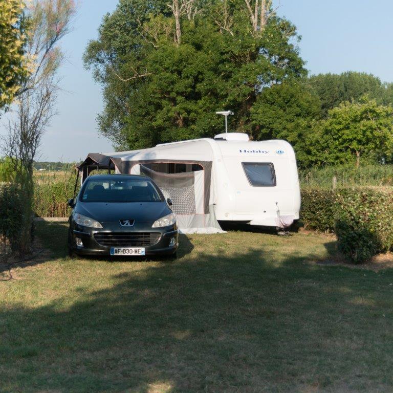 emplacement camping car calme