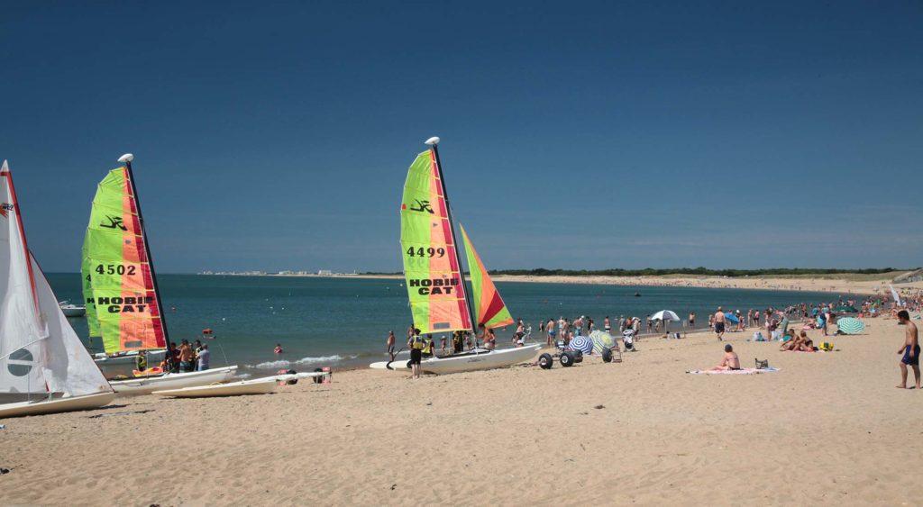 Camping proche plage et activités nautiques