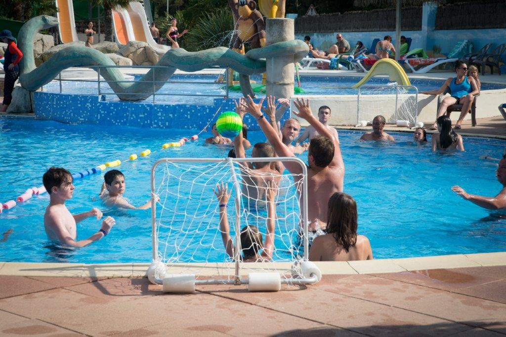 animations piscine camping 5 étoiles les Chouans en Vendée