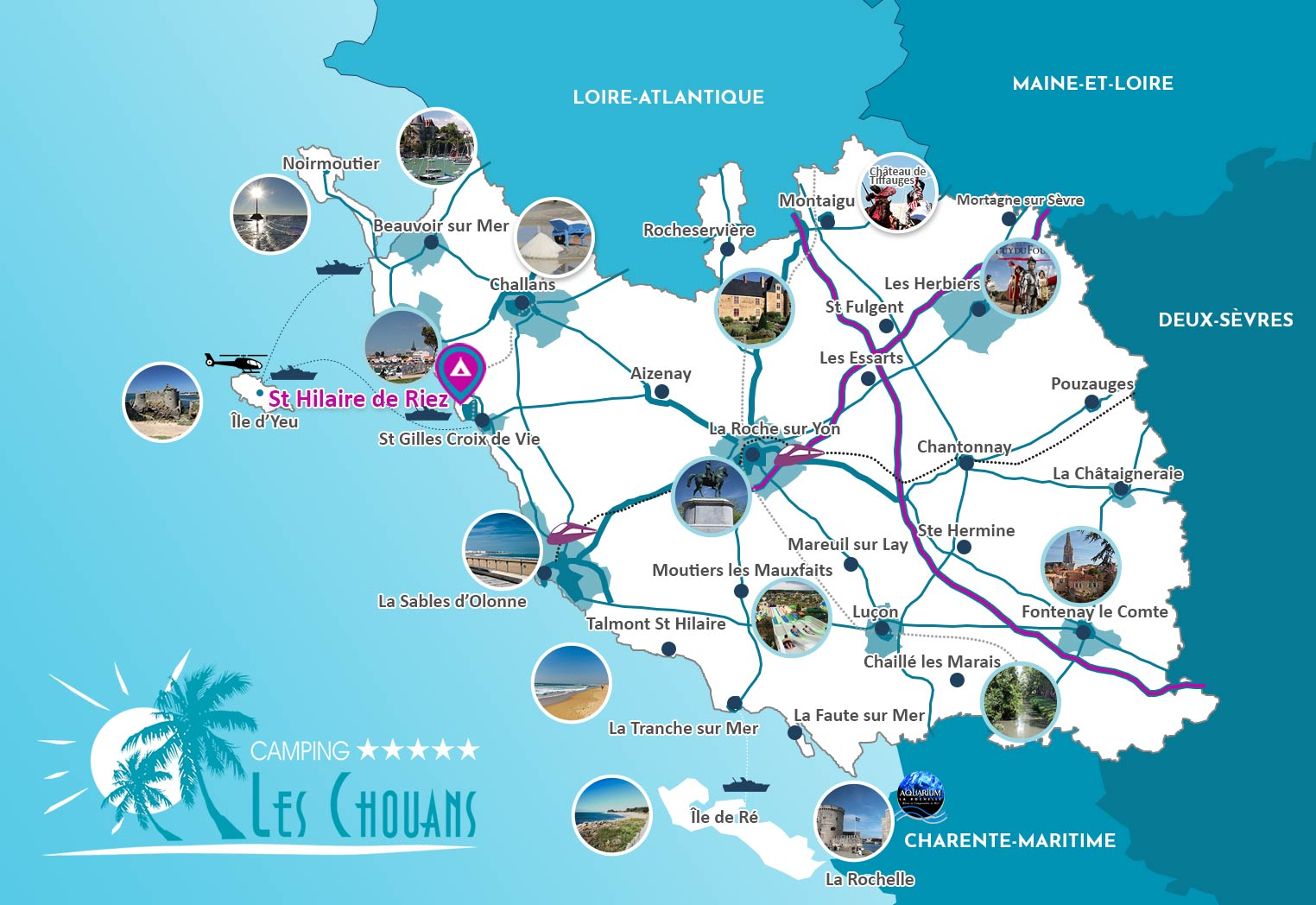 Vakantie in de Vendée