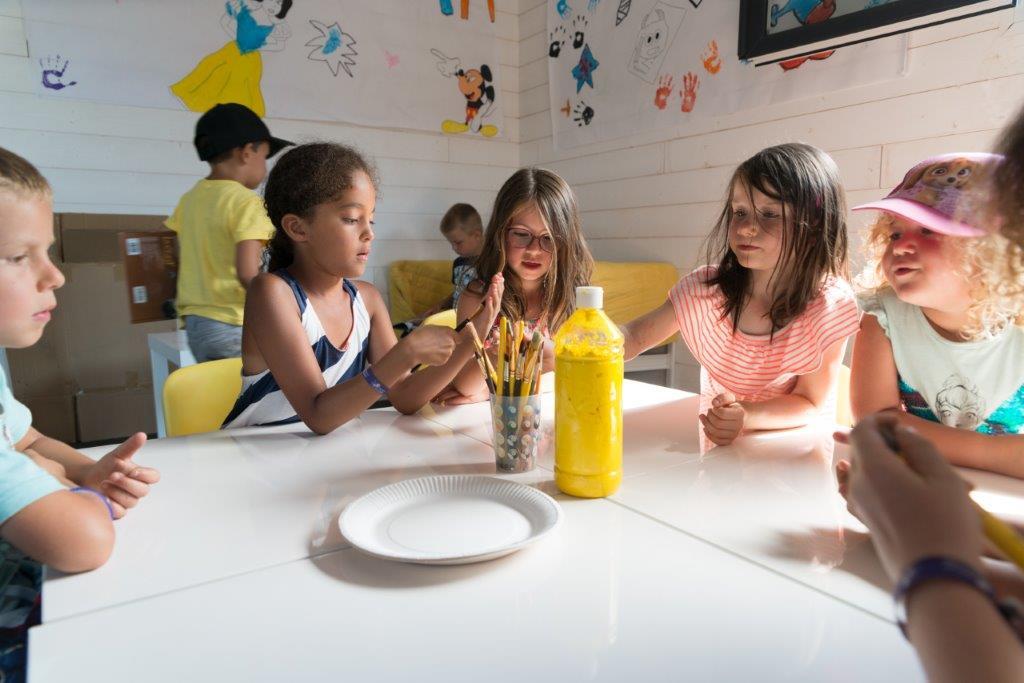 le club enfants camping 5 étoiles les Chouans en Vendée