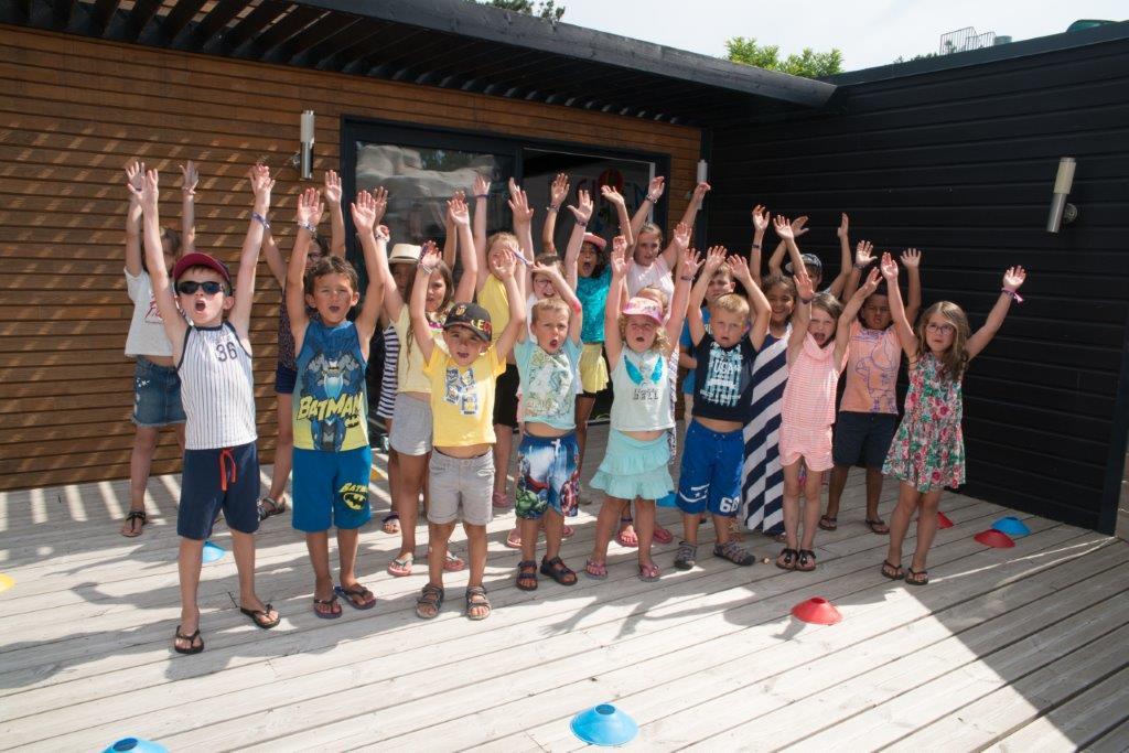 le club enfants du camping 5 étoiles les Chouans en Vendée