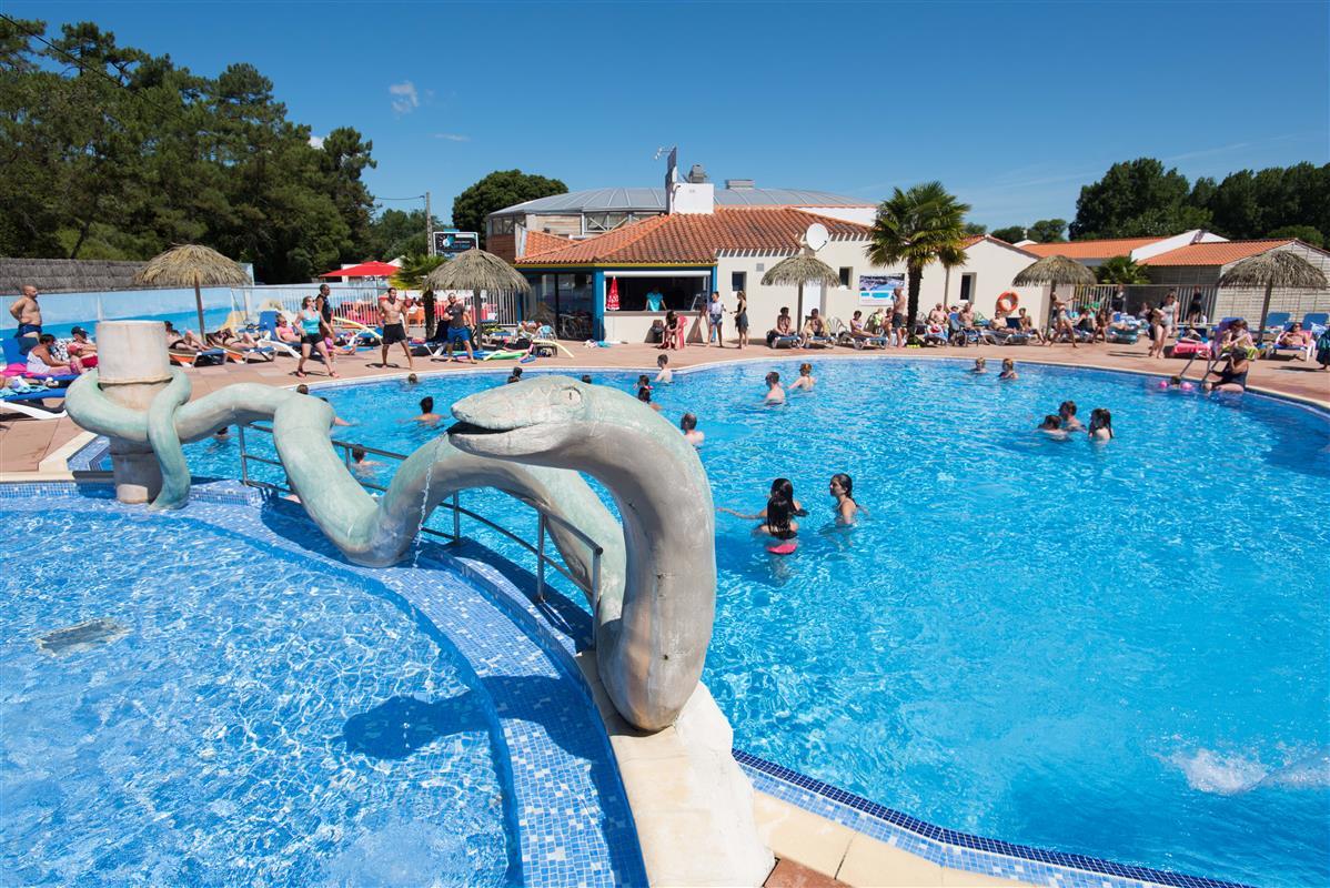 camping 5* les Chouans Vendée avec parc aquatique