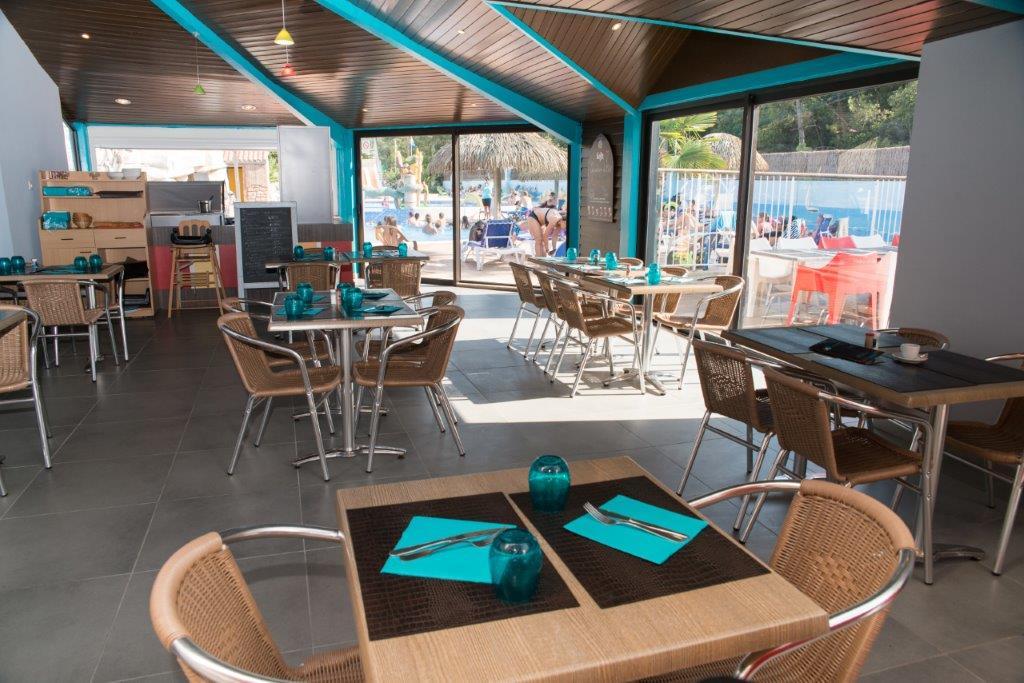 le restaurant du camping 5 étoiles en Vendée