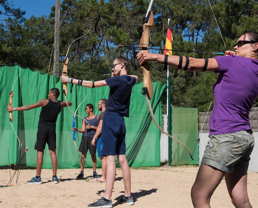 tir à l'arc au camping 5* les Chouans Vendée