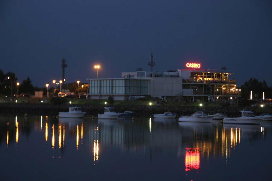 Le casino de Saint Gilles Croix de Vie de nuit