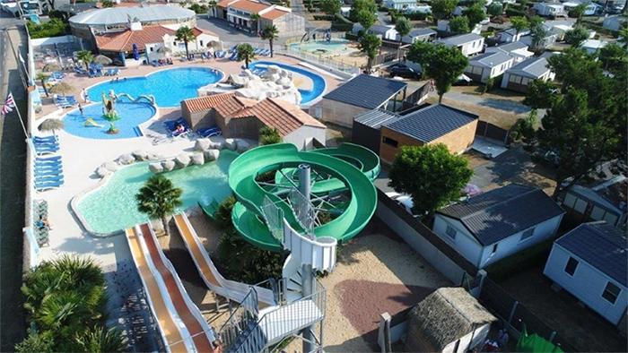 camping avec parc aquatique Vendée