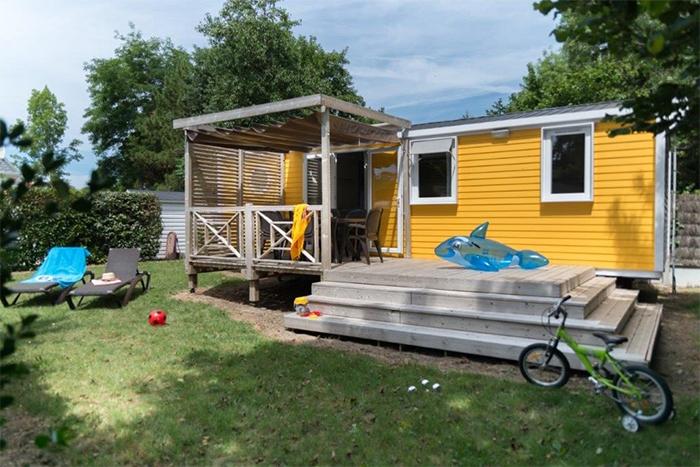 mobil-home au camping les Chouans avec animations en Vendée