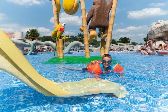 pataugeoire ludique parc aquatique Vendée
