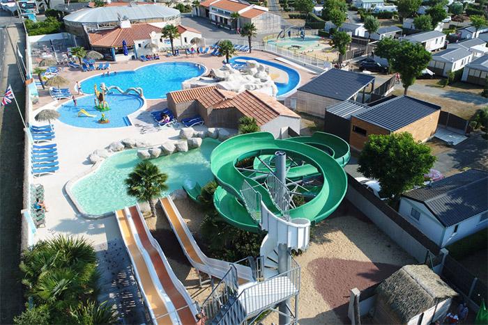 parc aquatique du camping 5 étoiles Vendée